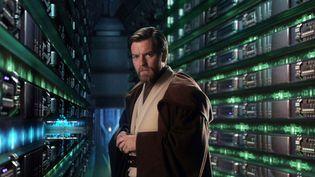 """Ewan McGregor dans le costume d'Obi-Wan Kenobi pour """"Star Wars ÉpisodeIII : La Revanche des Siths"""" en 2005. (LUCASFILM LTD.)"""
