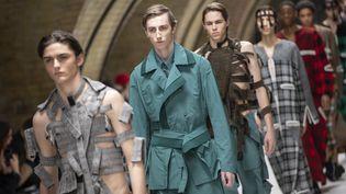 Défilé du créateur Craig Green lors de la Fashion Week hommes automne/hiver le 7 janvier 2019. (NIKLAS HALLE'N / AFP)