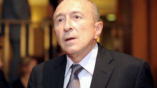 Le sénateur-maire PS de Lyon, Gérard Collomb, au Sénat, le 27 septembre 2011. (JOHANNA LEGUERRE / AFP)