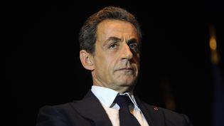 Nicolas Sarkozy, le 8 décembre 2015 à Rochefort (Charente-Maritime). (XAVIER LEOTY / AFP)