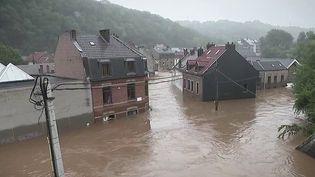 Inondations en Belgique : Pepinster recherche encore ses disparus (France 2)