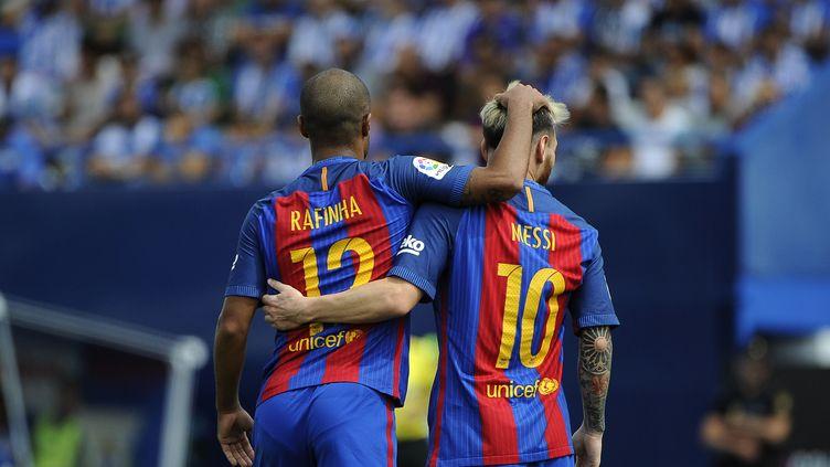 Le FC Barcelone s'est régalé à Leganes (PEDRO ARMESTRE / AFP)