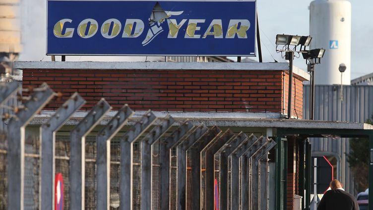 L'usine de pneumatiquesGoodyear d'Amiens-Nord (Somme), le 2 décembre 2011. (MAXPPP)