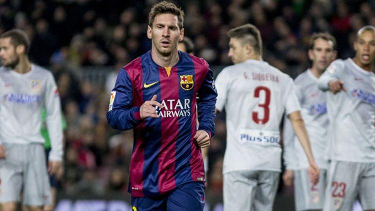 L'attaquant du FC Barcelone, Lionel Messi