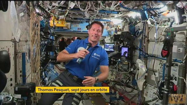 Espace: Thomas Pesquet a passé sept jours en orbite autour de la Terre