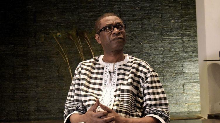 Le chanteur sénégalais Youssou N'Dour en mars 2017.  (SEYLLOU / AFP)