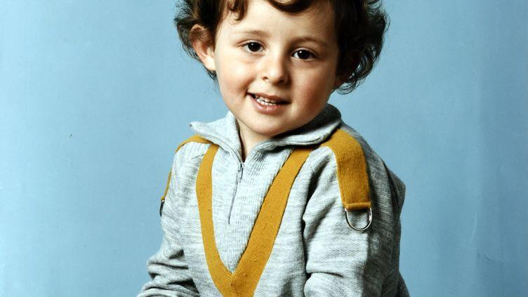 Portrait du petit Grégory Villemin en 1984. (/NCY / MAXPPP)