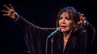 Juliette Gréco le 9 mars 2016à Nîmes  (Jean-Claude Azria / WorldPictures / maxPPP)