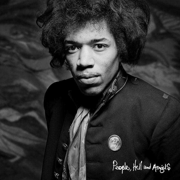 """La pochette de l'album de Jimi Hendrix """"People, Hell and Angels"""" à paraître en mars 2012.  (Droits réservés)"""