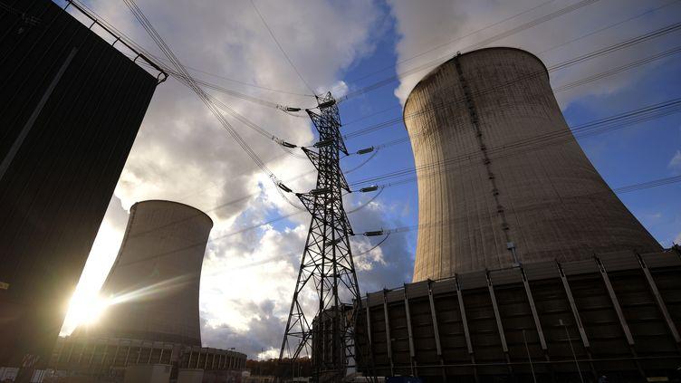 La centrale nucléaire de Cattenom, en Lorraine. (PATRICK HERTZOG / AFP)