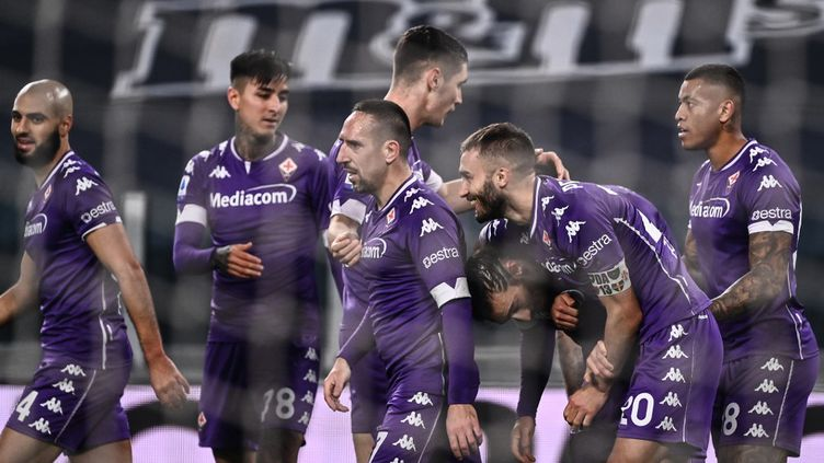 La Fiorentina de Ribéry a fait chuter la Juve pour la première fois de la saison. (MARCO BERTORELLO / AFP)