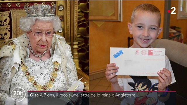 Oise : un garçon de sept ans reçoit une réponse de la Reine d'Angleterre