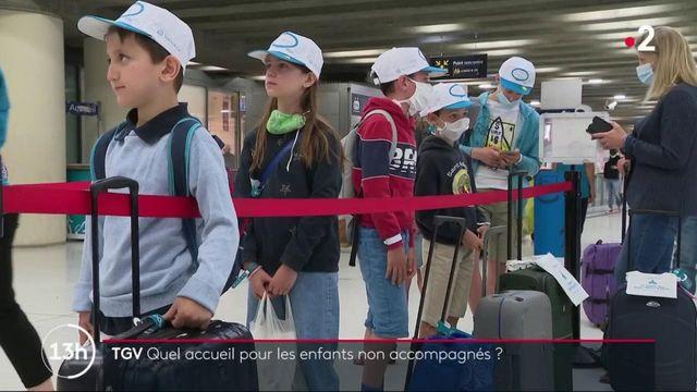 TGV : quel accueil pour les enfants qui voyagent seuls cet été ?