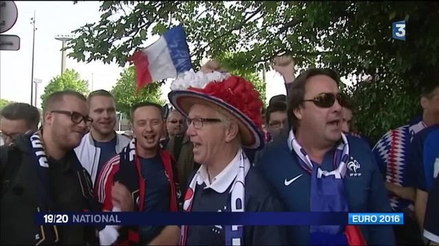 Euro 2016 : la France s'habille en bleu-blanc-rouge