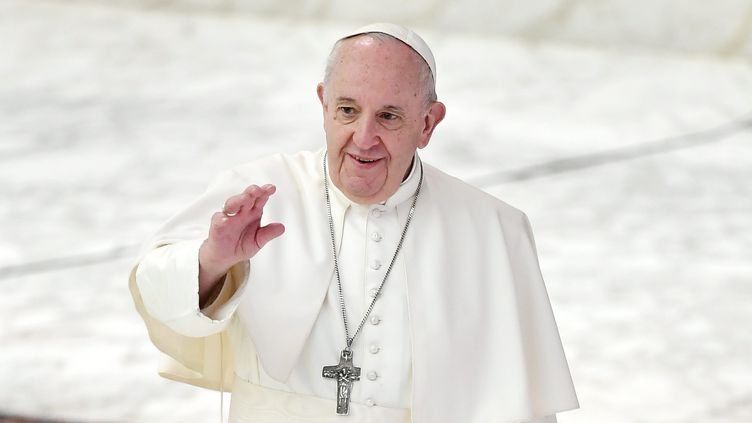 Le pape François, 21 octobre 2020. (MARIA LAURA ANTONELLI / AGF FOTO / MAXPPP)