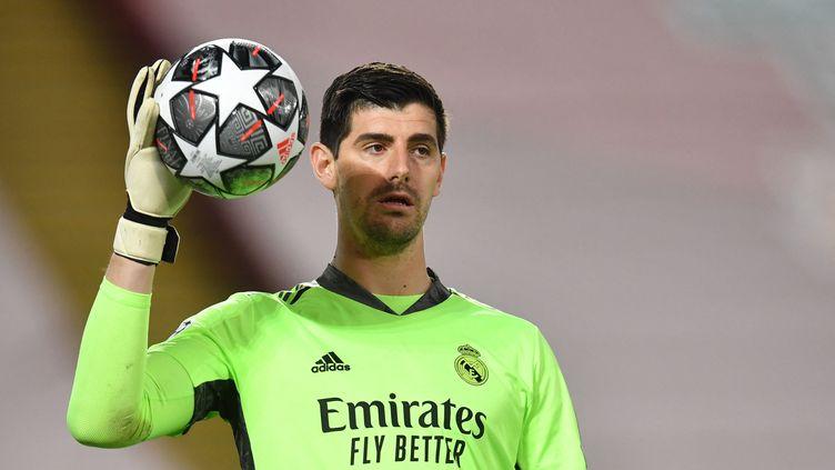 Thibaut Courtois et le Real Madrid font partie du projet de Super Ligue européenne  (PAUL ELLIS / AFP)