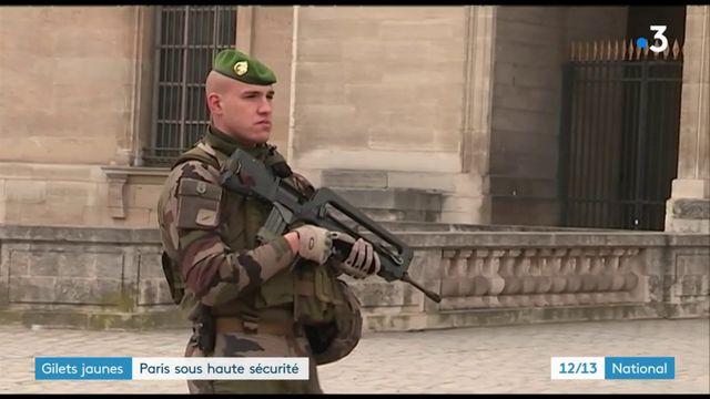 """""""Gilets jaunes"""" : Paris se prépare à une nouvelle journée de mobilisation sous haute surveillance"""