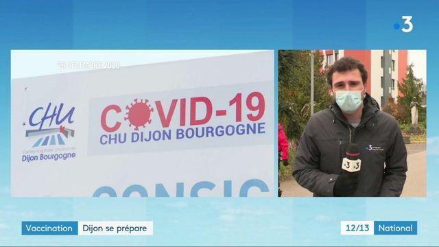 Coronavirus : des doses du vaccin administrées à Dijon