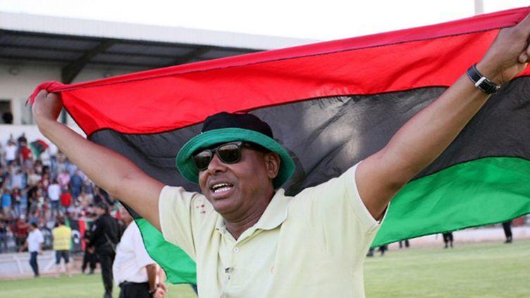Un supporter libyen (FETHI BELAID / AFP)