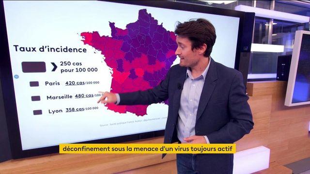 Covid-19 : où en est le niveau de l'épidémie en France ?