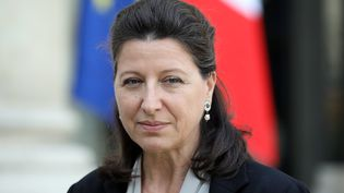 La ministre de la Santé, Agnès Buzyn, au palais de l'Elysée à Paris, le 17 octobre 2017. (LUDOVIC MARIN / AFP)