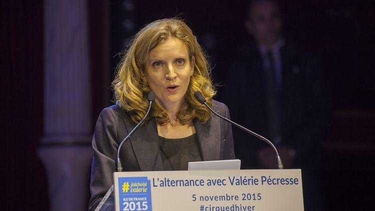 Nathalie Kosciusko-Morizet, le 5 novembre 2015 au Cirque d'hiver, à Paris. (STEPHANE ROUPPERT / CITIZENSIDE.COM / AFP)