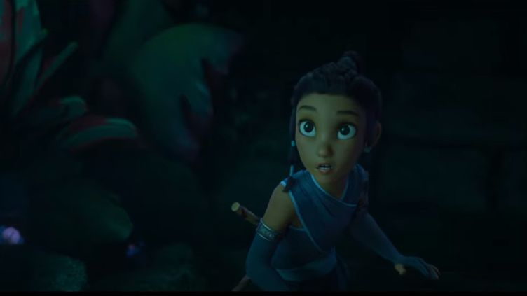 """Capture d'écran de la bande annonce de """"Raya et le dernier dragon"""". (2020 Disney. All Rights Reserved.)"""