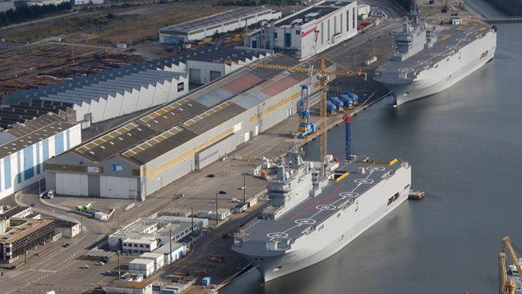 (Un accord a été trouvé entre la Russie et la France sur les deux navires Mistral © REUTERS/Stephane Mahe)