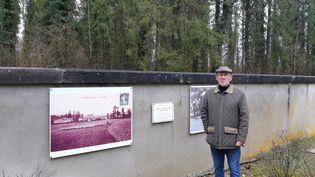 Jean Lavigne, maire depuis 1988 deCumières-Le-Mort-Homme, dans la Meuse. Un village sans habitants. (JÉRÔME JADOT / RADIO FRANCE)
