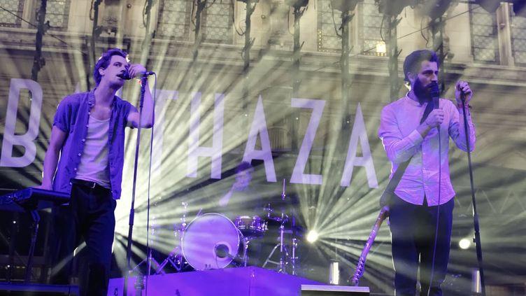 Balthazar en concert à Paris lors du Festival Fnac Live en 2016