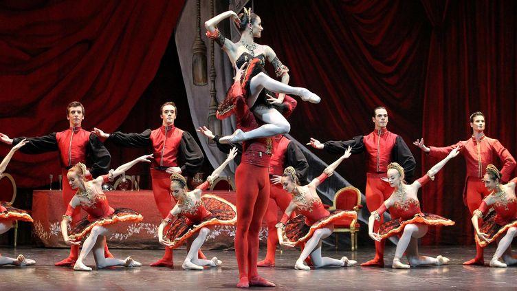 Les danseuses du Ballet de Nice (Alpes-Maritimes), le 13 décembe 2012. (MAXPPP)