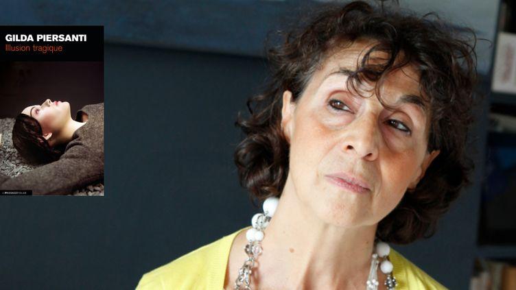 """Gilda Piersanti, auteure du polar """"Illusion tragique"""" Prix des lecteurs à Quais du Polar 2018.  (Edition Le Passage)"""