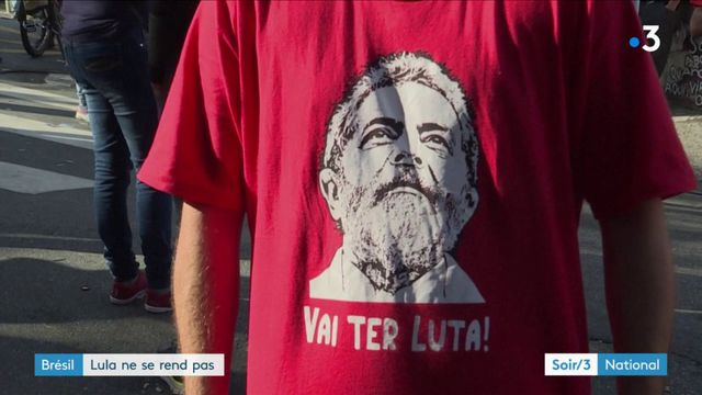 Brésil : Lula ne s'est pas rendu à la police