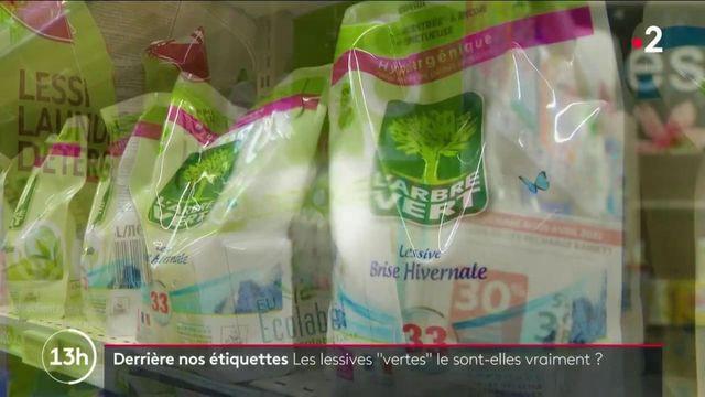 """Derrière nos étiquettes : les lessives """"vertes"""" sont-elles vraiment écologiques ?"""