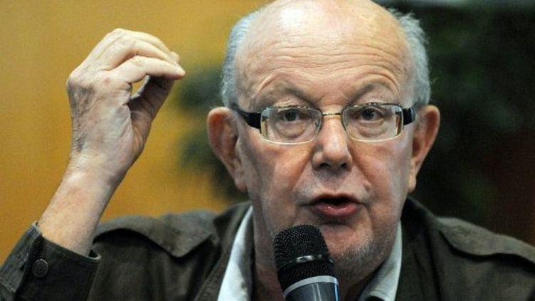 Jean-François Kahn, co-fondateur et ancien directeur de Marianne. (AFP)