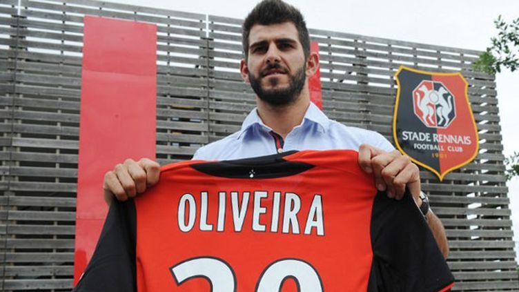 Le joueur portugais Nelson Oliveira