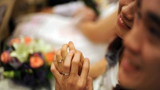 Un mariage à Kuala Lumpur (Malaisie). Photo d'illustration. (SAEED KHAN / AFP)