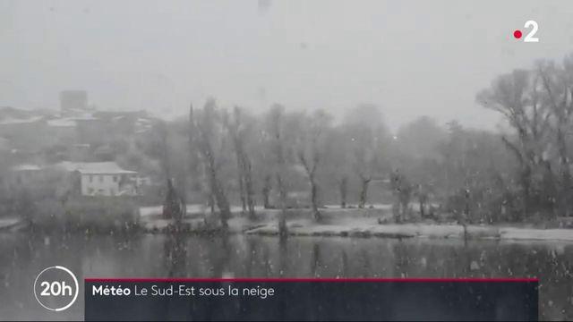 Chutes de neige : le sud-est durement touché