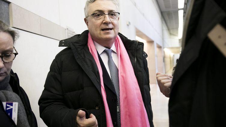 Jacques Creyssel le 2 février 2018 à Paris (VINCENT ISORE / MAXPPP)