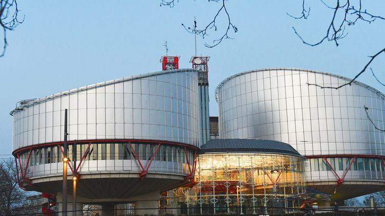 La Cour européenne des droits de l'homme, à Strasbourg (Bas-Rhin), le 13 février 2017. (WINFRIED ROTHERMEL / PICTURE ALLIANCE / AFP)
