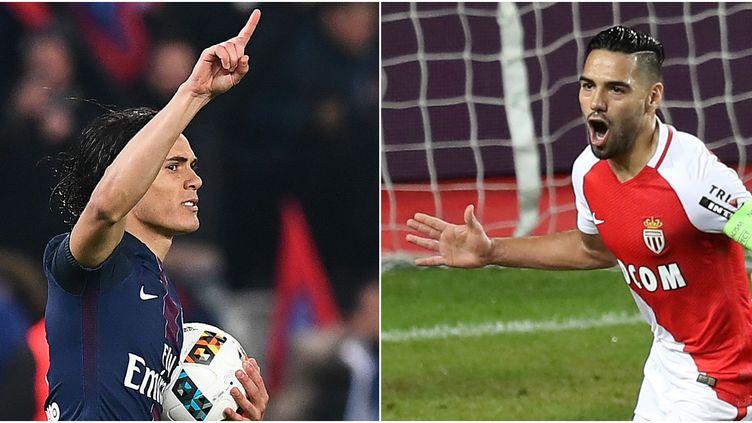 Edinson Cavani (PSG) VS Radamel Falcao (Monaco).