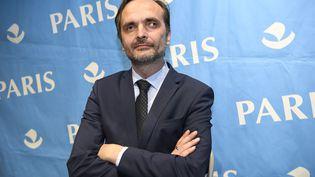 Igor Kochetkov, le président du réseau LGBT Russie, le 30 juin 2017 à Paris. (BERTRAND GUAY / AFP)