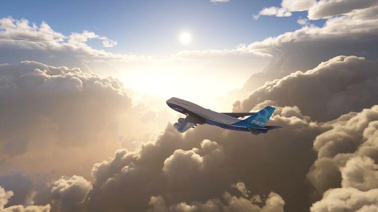 Flight simulator du studio bordelais Asobo présenté sur Youtube le 13 juillet 2020 par Xbox. (FRANCEINFO / RADIOFRANCE)
