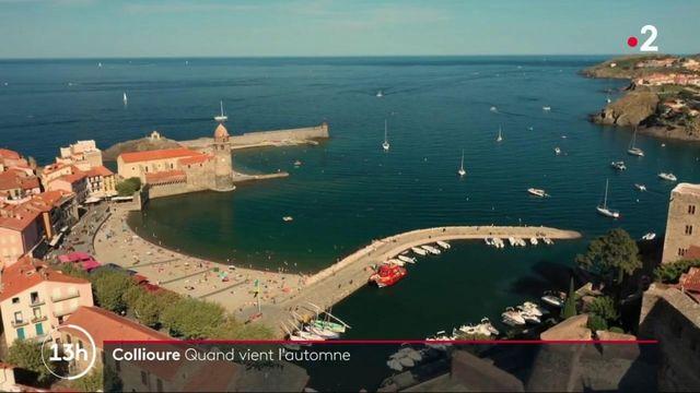 Feuilleton du 13H : Collioure attire les touristes à l'approche de l'automne