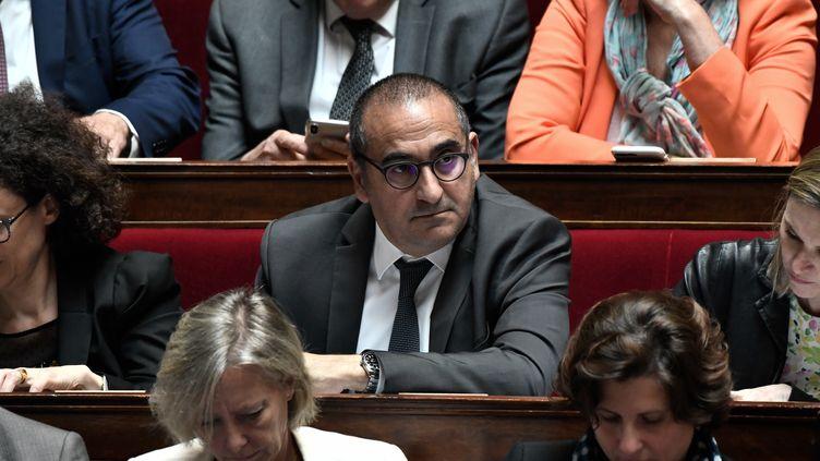 Le secrétaire d'Etat à l'Intérieur Laurent Nuñez, le 22 mai 2019 à l'Assemblée nationale. (STEPHANE DE SAKUTIN / AFP)