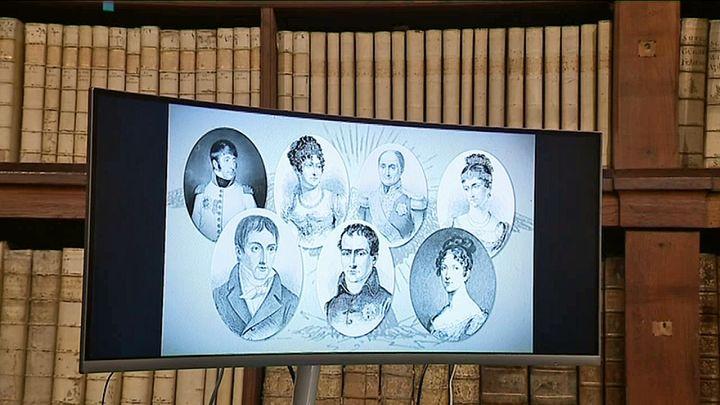 La famille Bonaparte (France Corse)