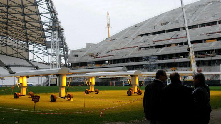 Le Vélodrome aura droit à une pelouse flambant neuve