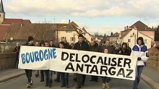 Territoire-de-Belfort :Antargaz veut fermer, la colère des habitants expropriés (France 2)