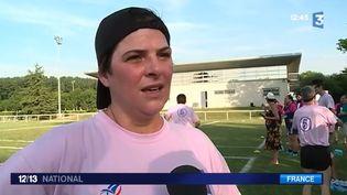 Jouer au rugby pour guérir du cancer, c'est une pratique prise très au sérieux à l'Institut Universitaire du Cancer de Toulouse (IUCT). (FRANCE 3)