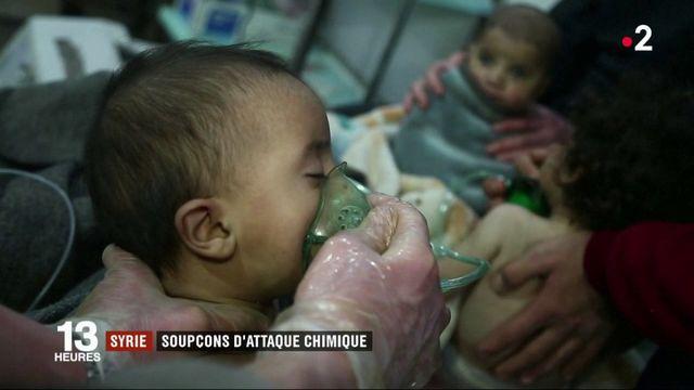 Syrie : soupçons d'attaque chimique